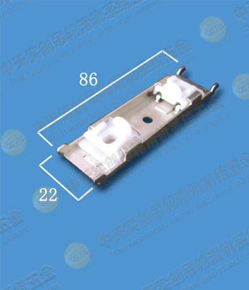 重型窗帘轨双轨顶装固定卡子